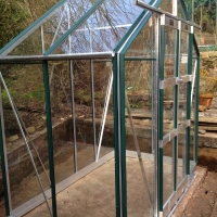 Installing greenhouse