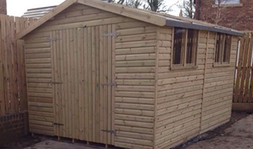 GSG Buildings specialises in design, manufacture and installation of garages, garden shed and greenhouses across Lancashire.