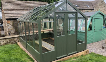 GSG Buildings specialises in design, manufacture and installation of garages, garden shed and greenhouses across Earby.