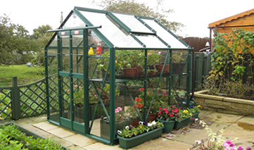 Bespoke Aluminium Greenhouse Installation by GSG Buildings Ltd