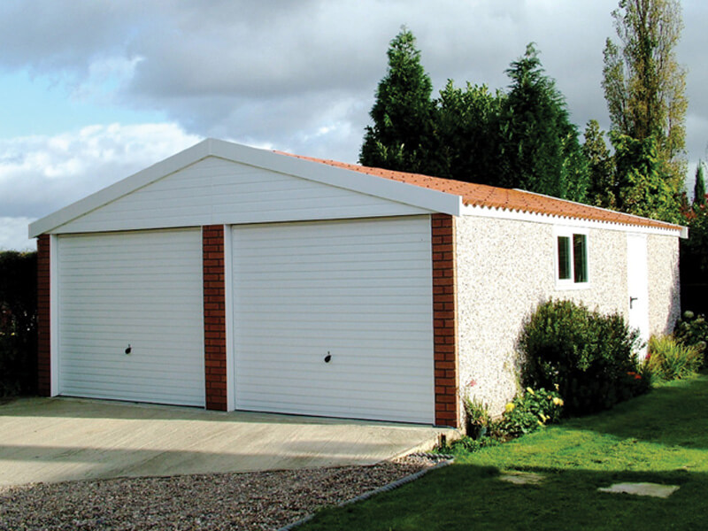GSG - Apex 15 Double Door Concrete Garage