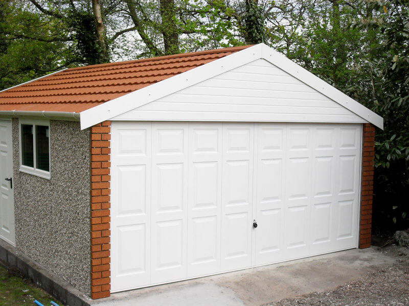 GSG - Apex 20 Concrete Garages