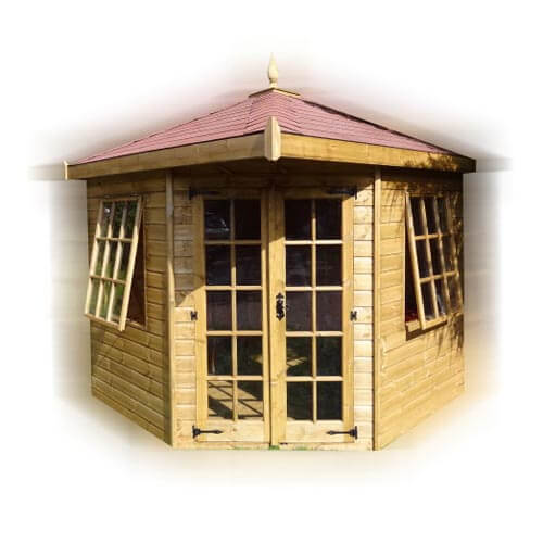 GSG Buildings Ltd - Hipped Roof Corner Summerhouse