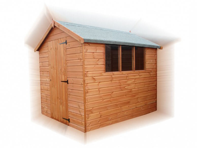 GSG - Standard Apex Timber Garden Shed