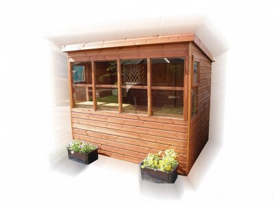 GSG Sunflower Potting Shed