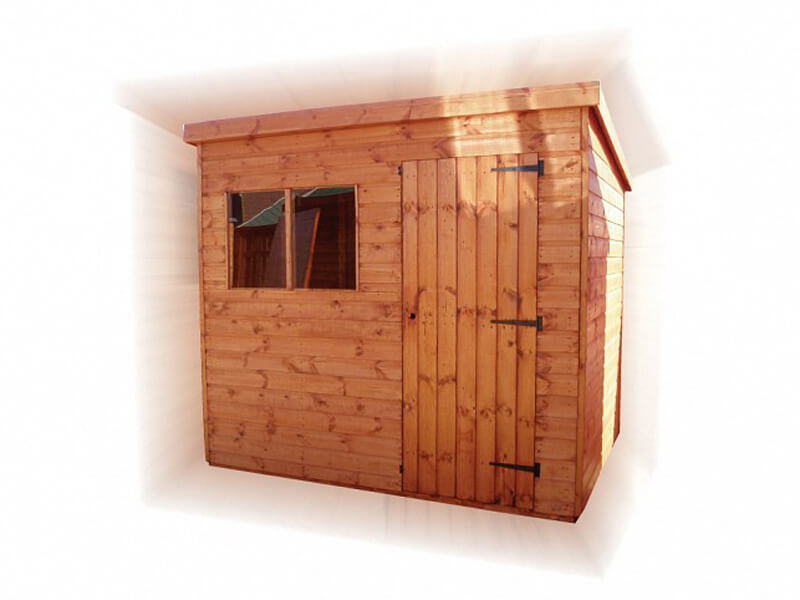 GSG Superior Pent Timber Garden Shed