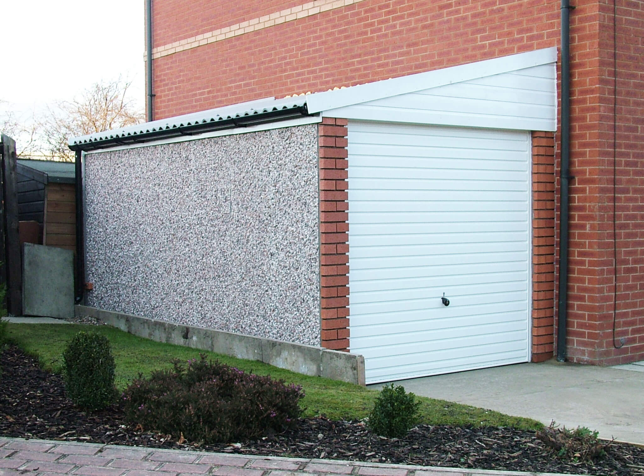 Concrete Lean To Garages Gsg Buildings Ltd