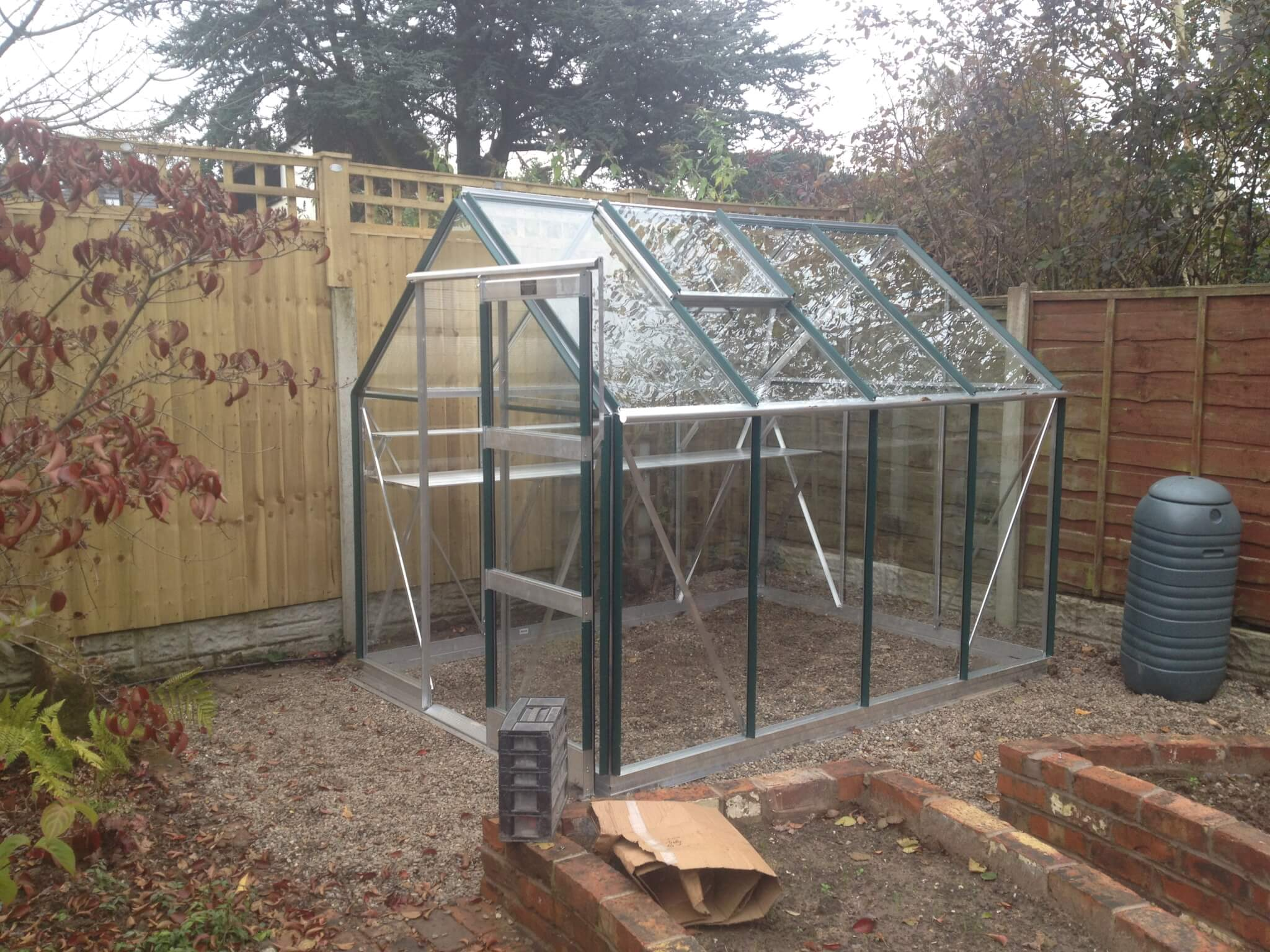 small greenhouse supply and install