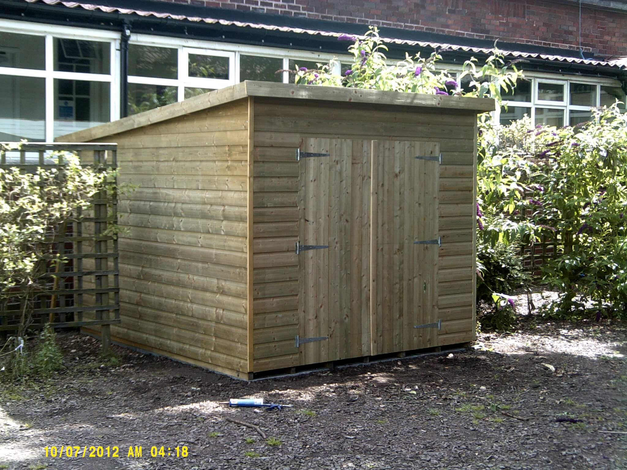 GSG Timber buildings - Double door timber shed