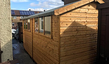 GSG Buildings specialises in design, manufacture and installation of garages, garden shed and greenhouses across Blackburn.