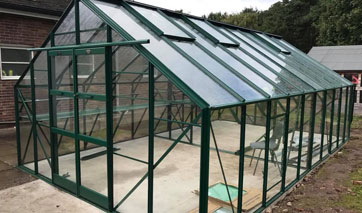 GSG Buildings specialises in design, manufacture and installation of garages, garden shed and greenhouses across Formby.