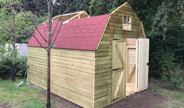 GSG Buildings specialises in design, manufacture and installation of garages, garden shed and greenhouses across Lytham.