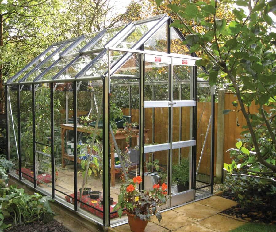 GX600 Large Aluminium Greenhouse