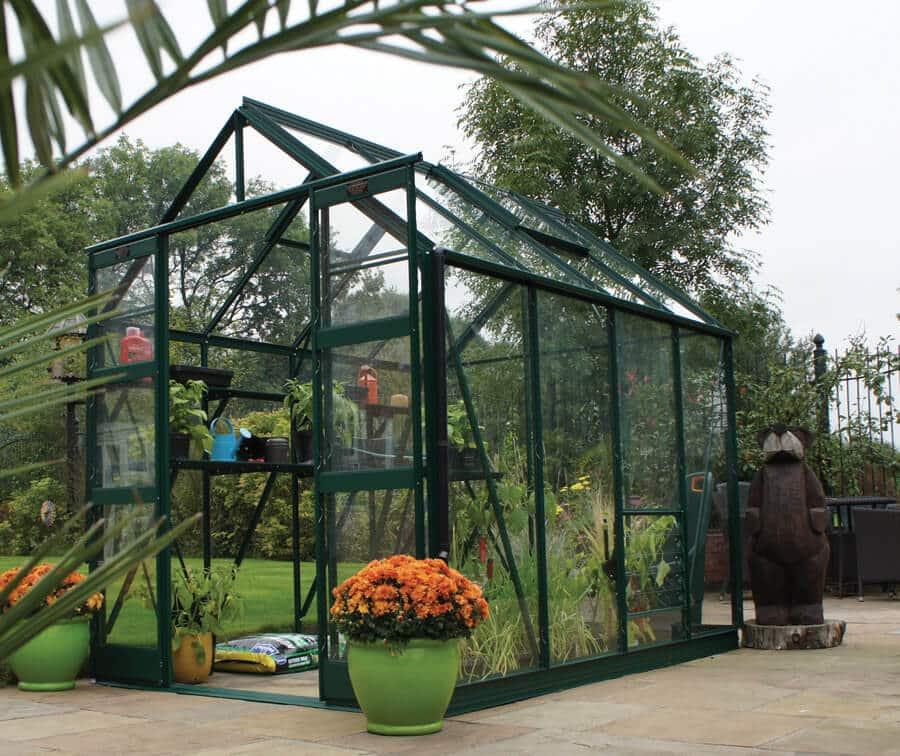 Strata Aluminium Greenhouse - GSG buildings Ltd