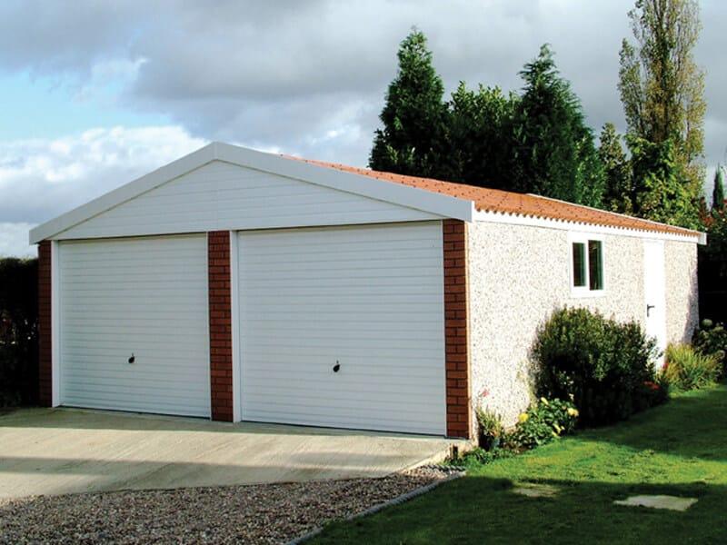 GSG - Apex 15 Double Door Concrete Garage