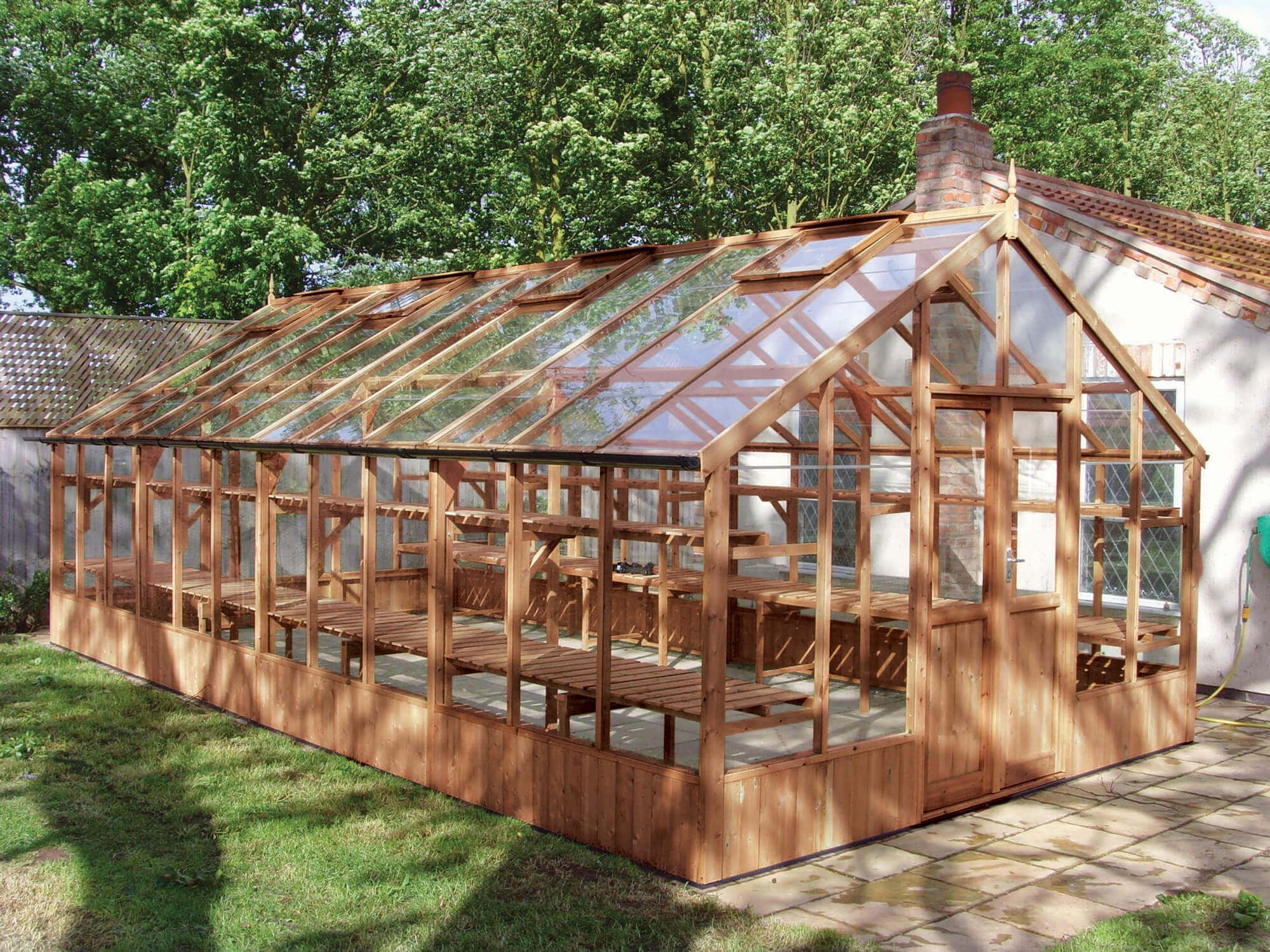 Large Timber Greenhouse Falcon-3990--x-7680