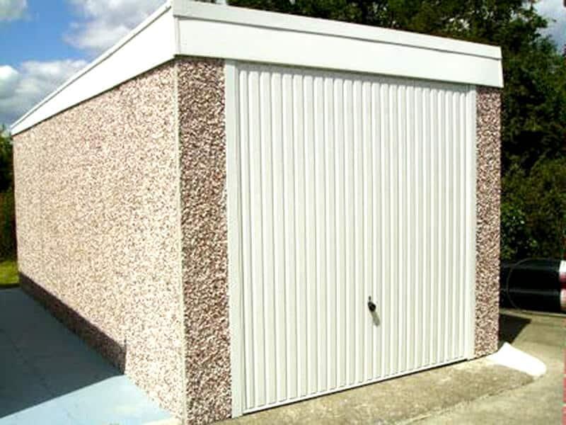 GSG Pent Concrete Garages