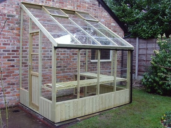The Dove Timber Greenhouse by GSG Buildings Ltd
