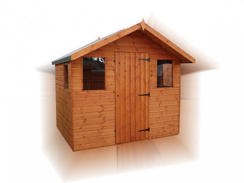 Timber Garden Shed Cabin by GSG Buildings Ltd