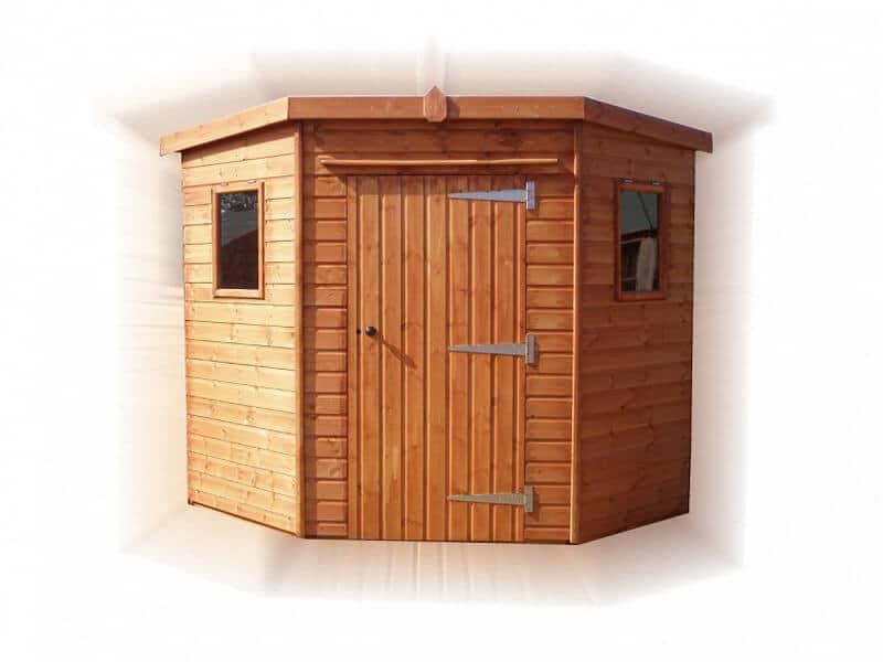 Corner Cabin by GSG Buildings Ltd