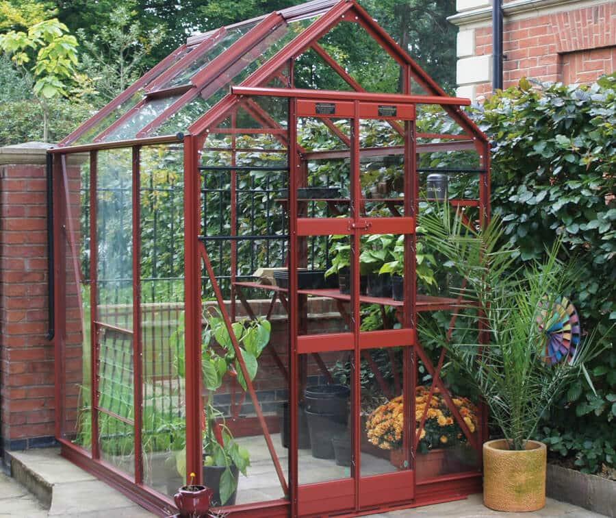 Aluminium Greenhouse - five-three-delta