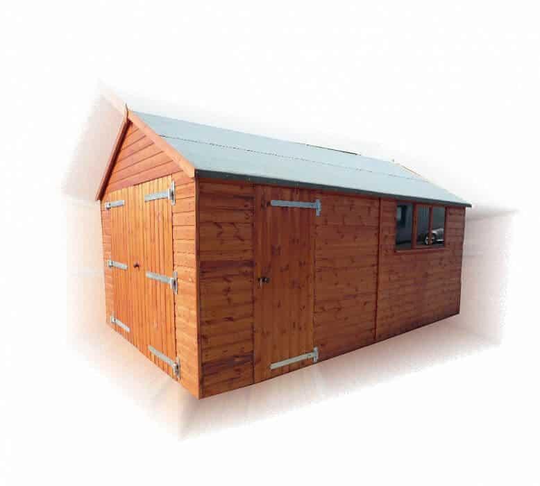 Timber Garage Apex