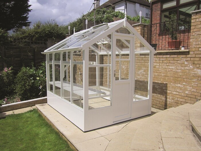 The Kingfisher Greenhouse by GSG Buildings Ltd