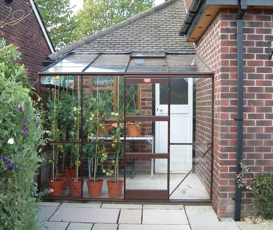 Kensington 6 R-Type 8'x6' greenhouse