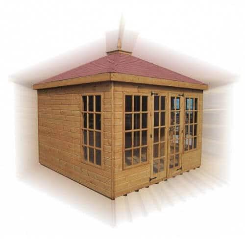 Timber summerhouse - sandringham
