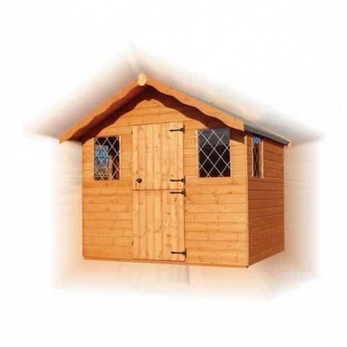 GSG Timber summer-cabin with barn door