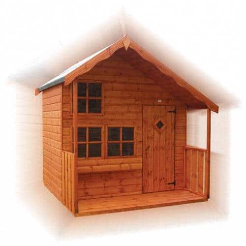 Wilton Lodge Wooden Children's Playhouse by GSG Buildings Ltd