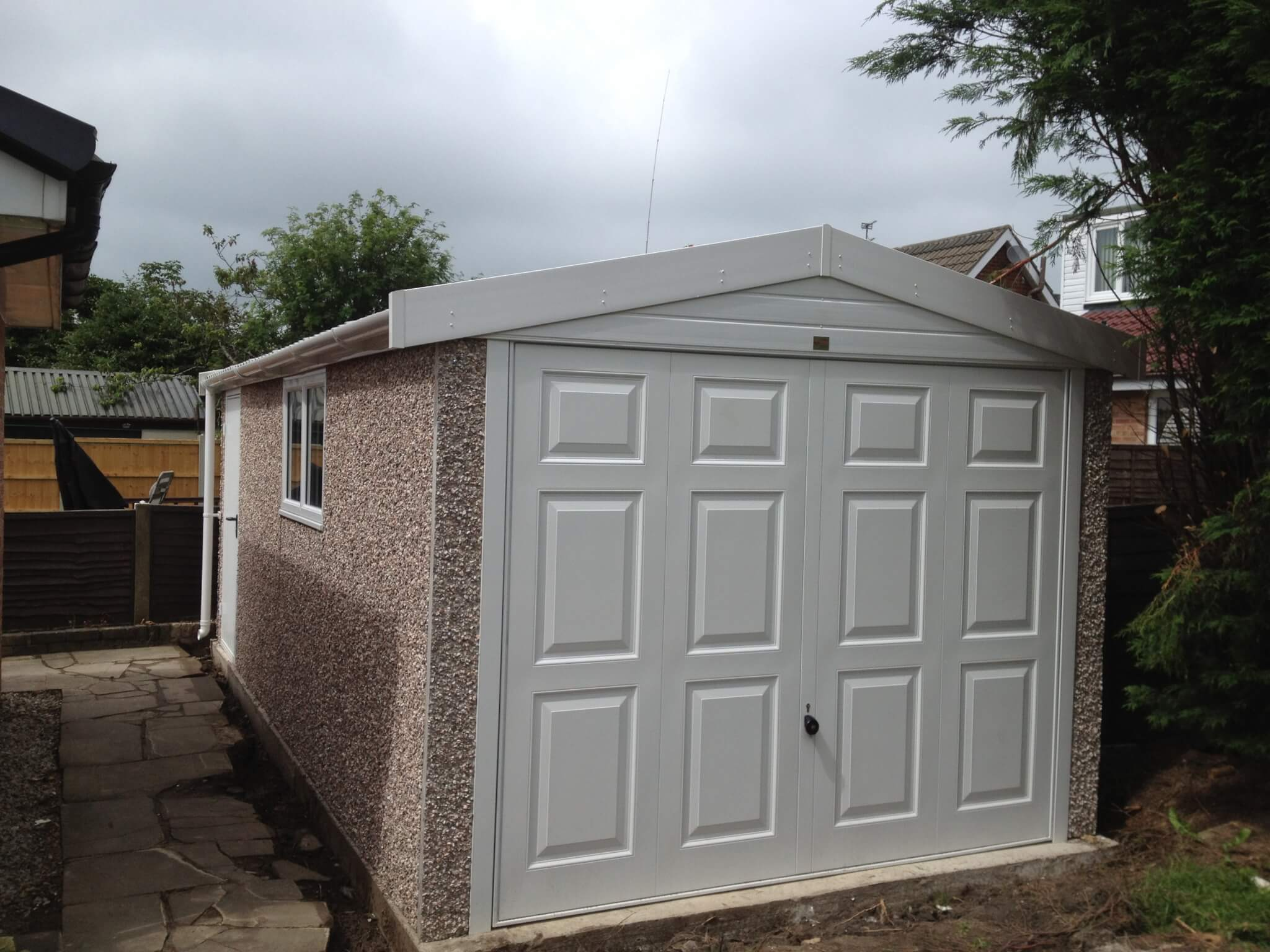 finest quality sectional concrete garages