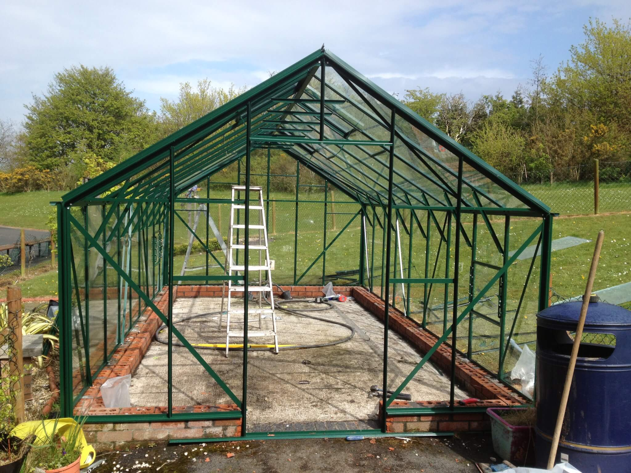 greenhouse supply and install
