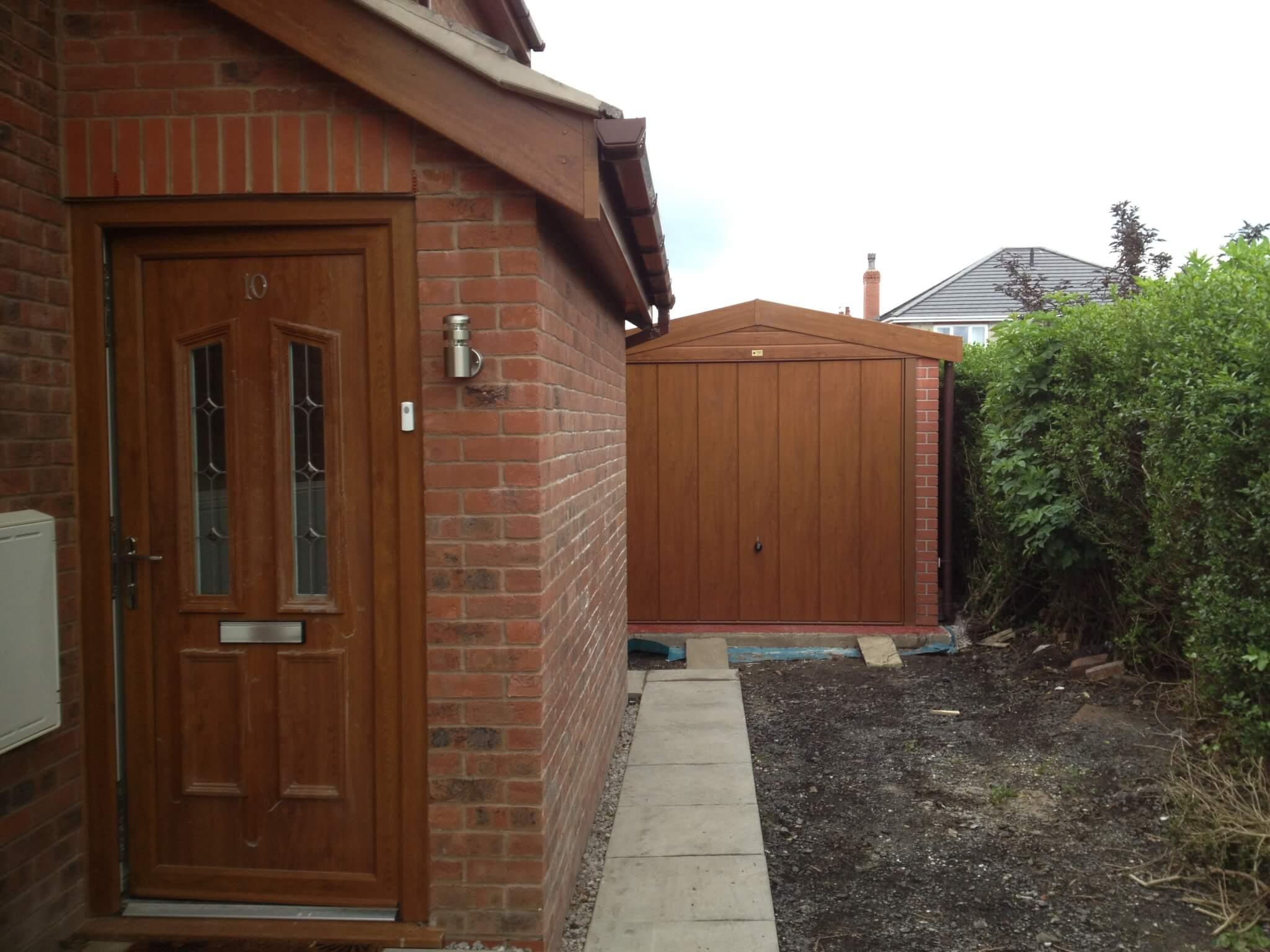 High quality domestic garages